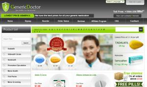 Genericdoctor.com Main Page