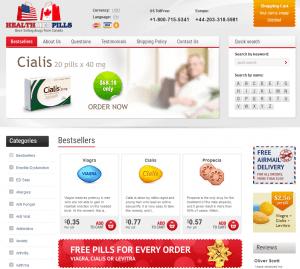 Healthmedpills.com Main Page