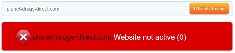 Planet-drugs-direct.com Website Not Active
