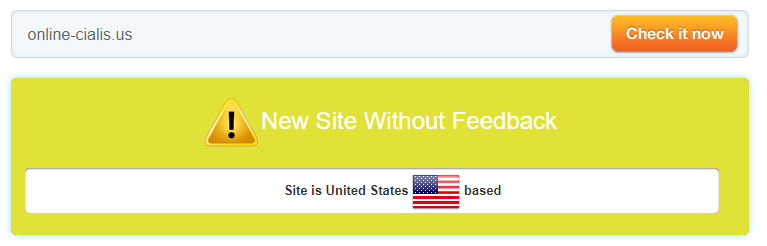 Online-cialis.us is a Website Without Feedback