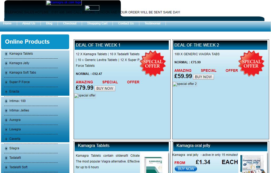 Kamagra.uk.com Main Page