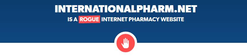 Internationalpharm.net is a Rogue Website