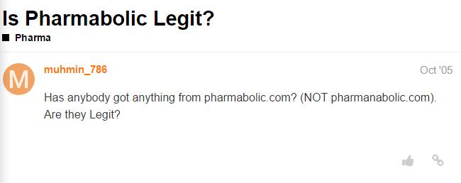 Pharmabolic.com Review
