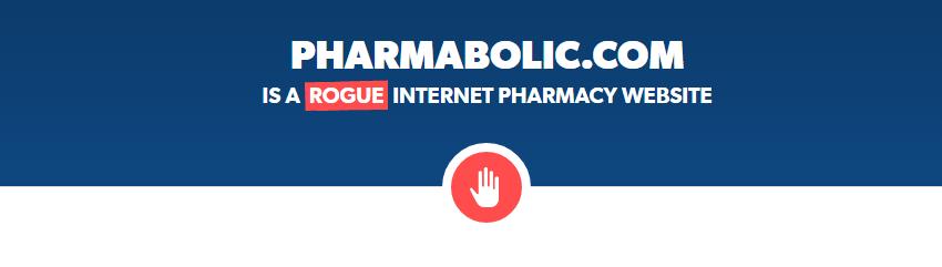 Pharmabolic.com is a Rogue Website