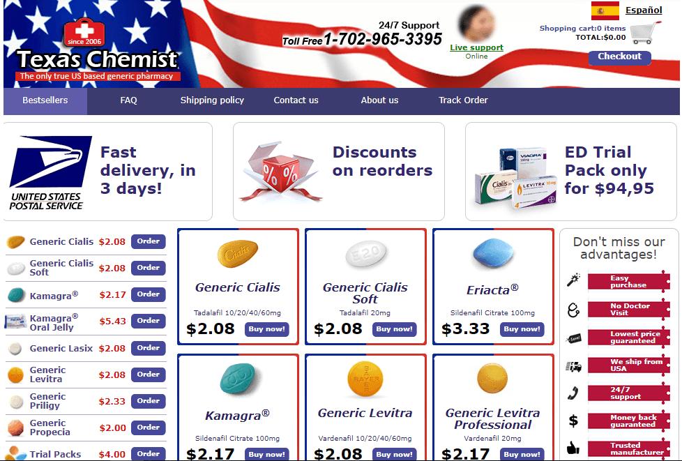 Texaschemist.com Main Page