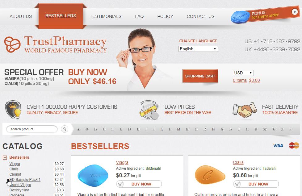 Good Pills Network Websites Look